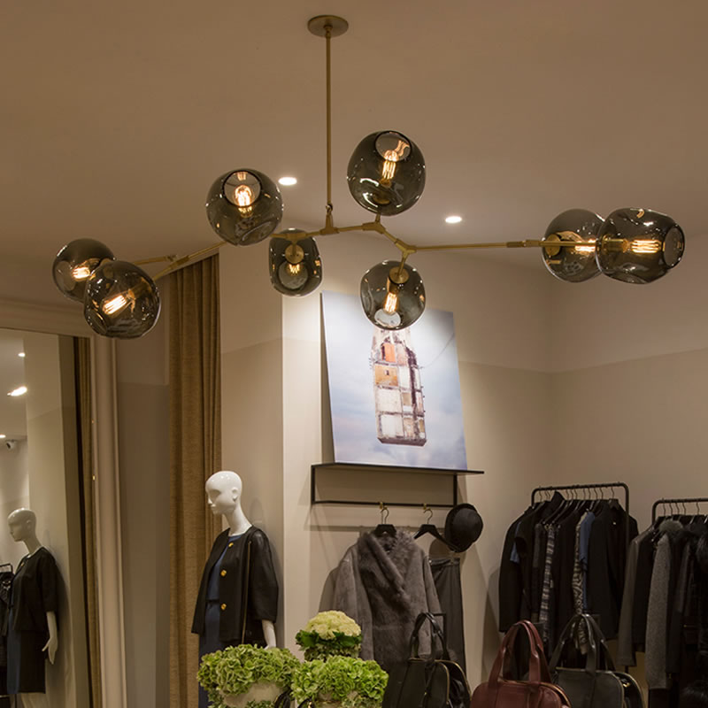chandeliers lighting modern lamp novelty pendant lamp natural tree