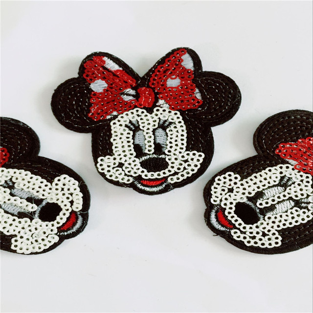 Mickey Iron On Patches