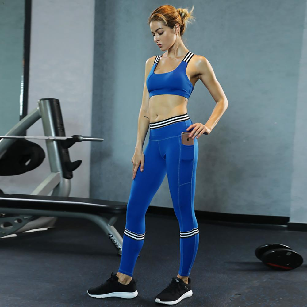 Workout Sets Sport Suit Clothes Sports Bra Wear For Women Sportswear Woman Gym Fitness Clothing Yoga Set Tracksuit Active Wear
