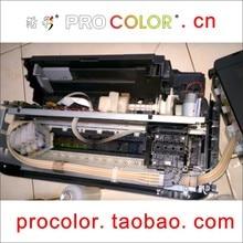 Комплект головка принтера Красителя чернил печатающая головка Очистки Жидкости для EPSON 664 T6641 672 T6731 673 674 L1800 L810 L800 L805 L850 СНПЧ принтер