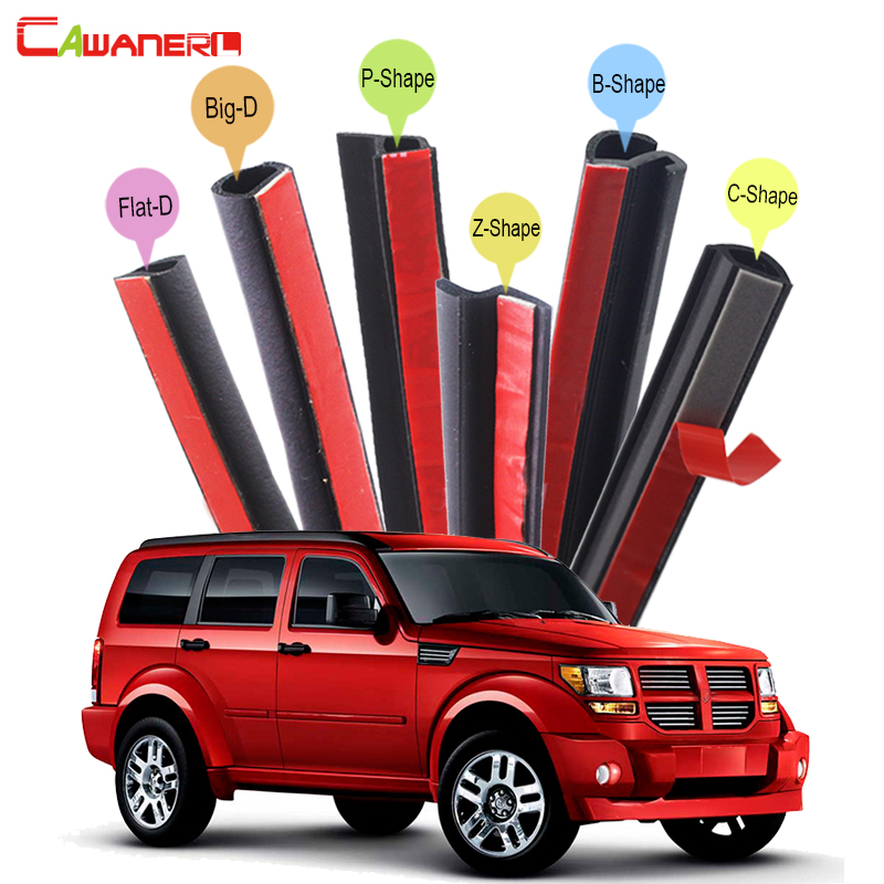 Cawanerl Car Accessories Seal Sealing Strip Kit Weatherstrip Noise Control For Dodge Nitro Durango Limited Journey Caliber stabila 150 см тип 80 а 2