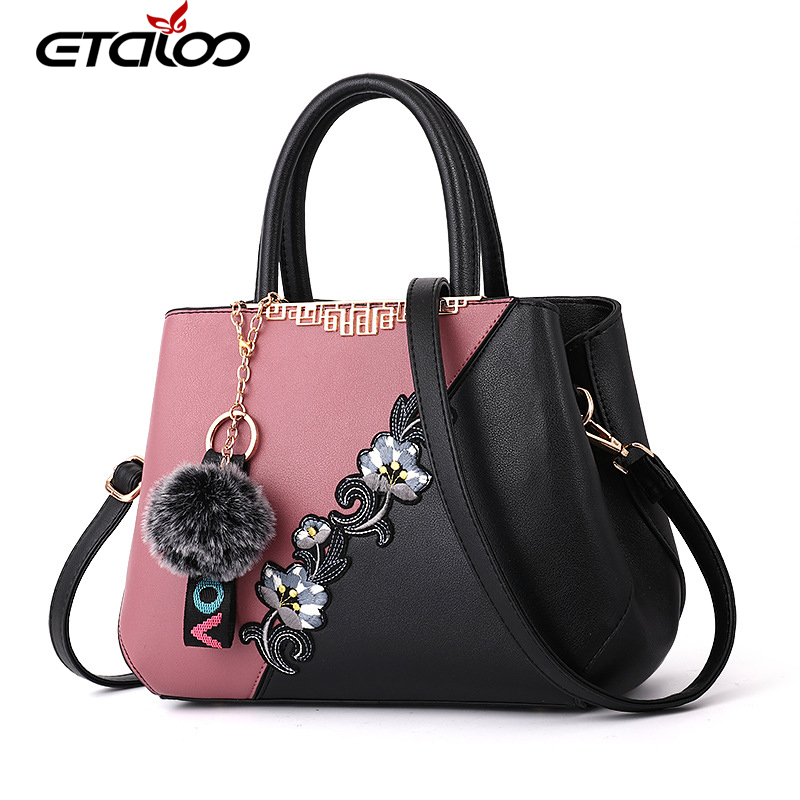 2018 Spring New Handbags Simple European Style Fashion Explosion Temperament Shoulder Bag