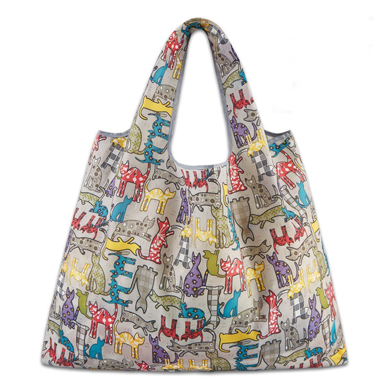 Hot Foldable Handy Shopping Bag Reusable Handbags Home Storage Organization Bag