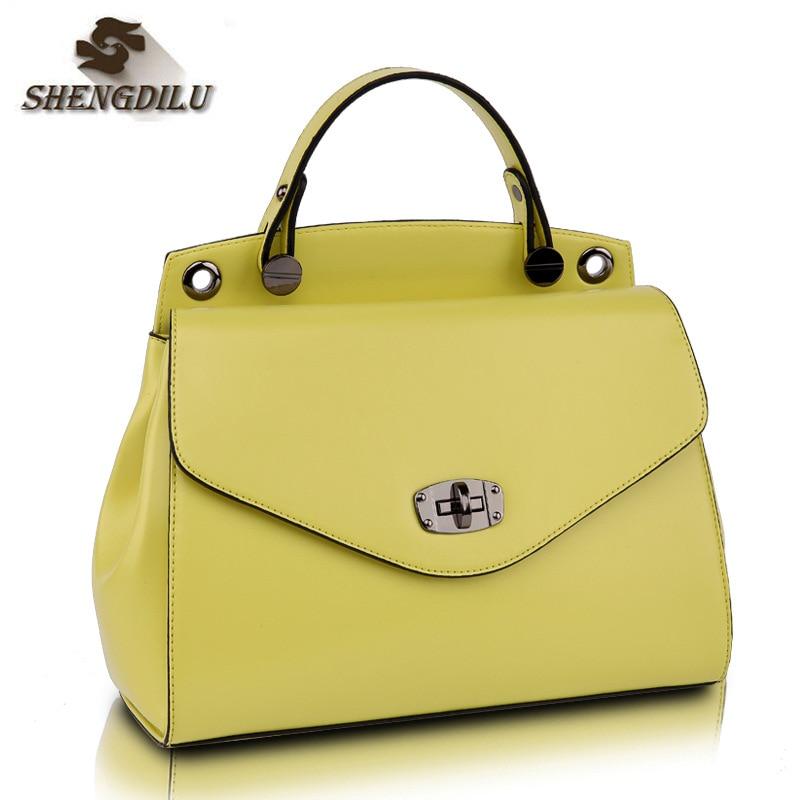 купить Women Bag Casual Women Leather Handbags Female Medium Women Shoulder Bags Famous Brands Women Messenger Bag Tote Bag по цене 7149.94 рублей