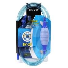 Acuario Grava Cleaner Herramienta de Limpieza Herramientas de Semi-Automática de Filtro de Acuario de Sifón Sifón Aspiradora Lavadora de Arena de Agua Cambio
