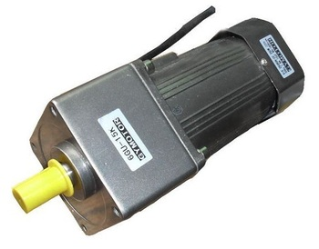 AC 380V 180W three phase motor with gearbox. AC gear motor,