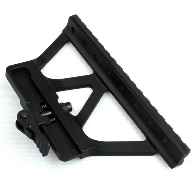 Sports & Entertainment Askco Quick Detach Ak Gun Rail Scope Mount Base Picatinny Side Rail Mounting For Ak 47 Ak 74 Black Tan Hot Selling