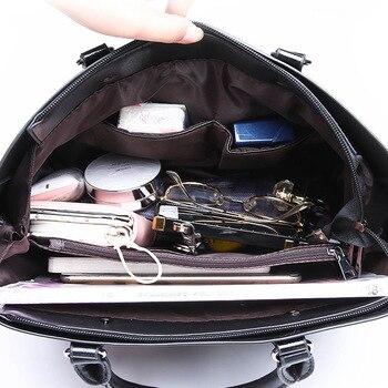 Genuine Leather Large Handbags  4