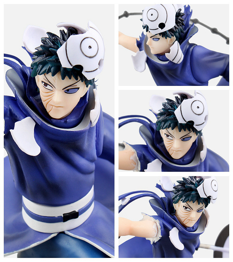 Huong Anime NARUTO Action Figures 1/10 Size Uchiha Obito XTRA Figurine Collectible Model Toy Brinquedos anime naruto brinquedos action