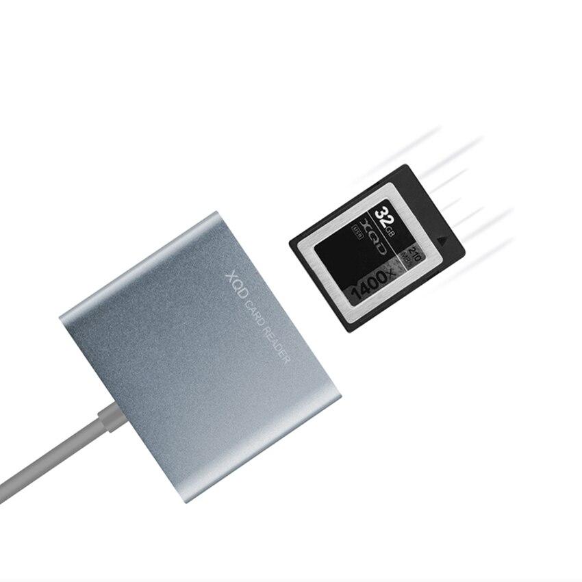 TOFOCO Haute Qualité Haute vitesse 5gbps USB3.0 XQD Lecteur De Carte XQD 2.0 USB 3.0 Lecteur de Carte mémoire XQD 500 mb/s