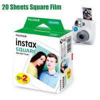 Fujifilm Instax Square Twin Pack Film White Edge Photo Paper for Instax SQ10 SQ6 Instant Camera Share SP 3 Printer