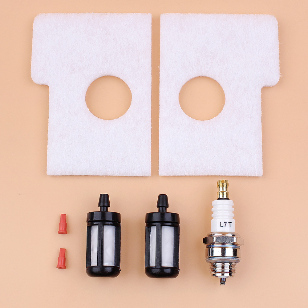 Air Filter Fuel Tank Vent Breather Spark Plug Kit For Stihl MS180 MS170 018 017 MS 170 180 Chainsaw Rebuild Repair Spare Parts