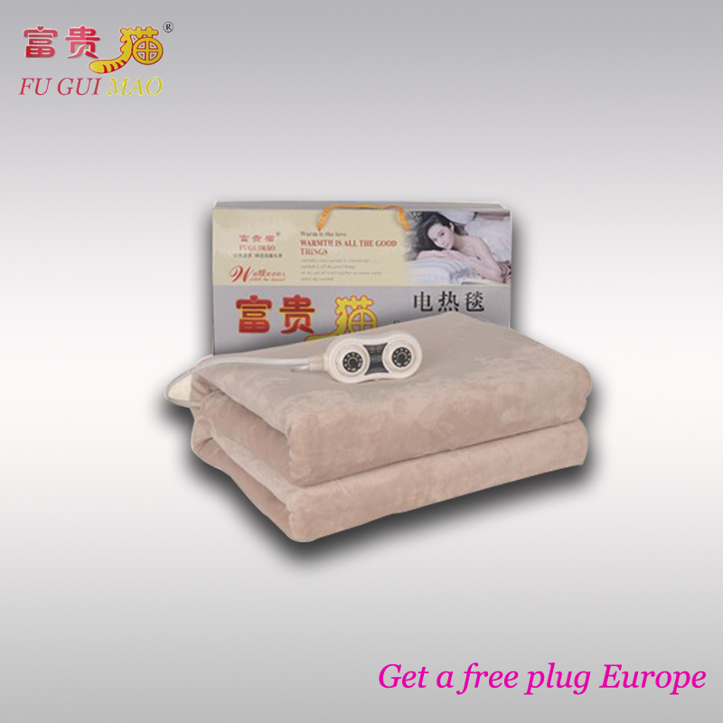 Electric Blanket 220v Double Manta Electrica Electric Heating Blanket Couverture Electrique Carpets Heated Electric Carpet Warme learning carpets us map carpet lc 201
