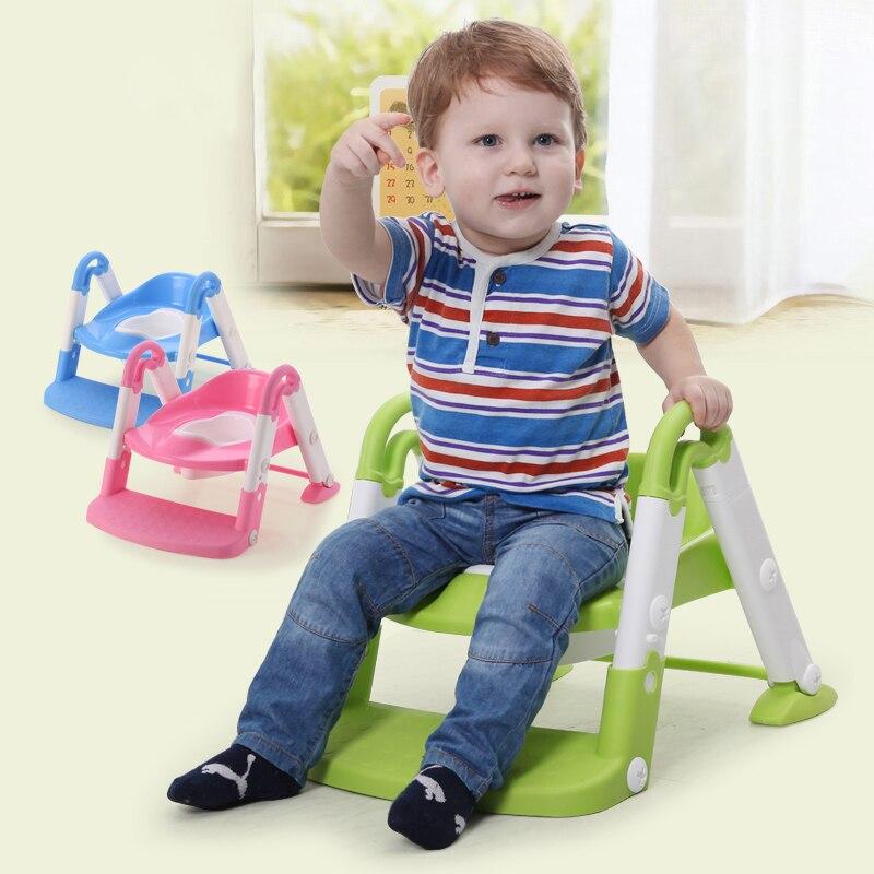 Bebê potty portátil Pot pot higiênico assento do vaso sanitário higiênico potty crianças das crianças com escada ajustável pot mictório para crianças