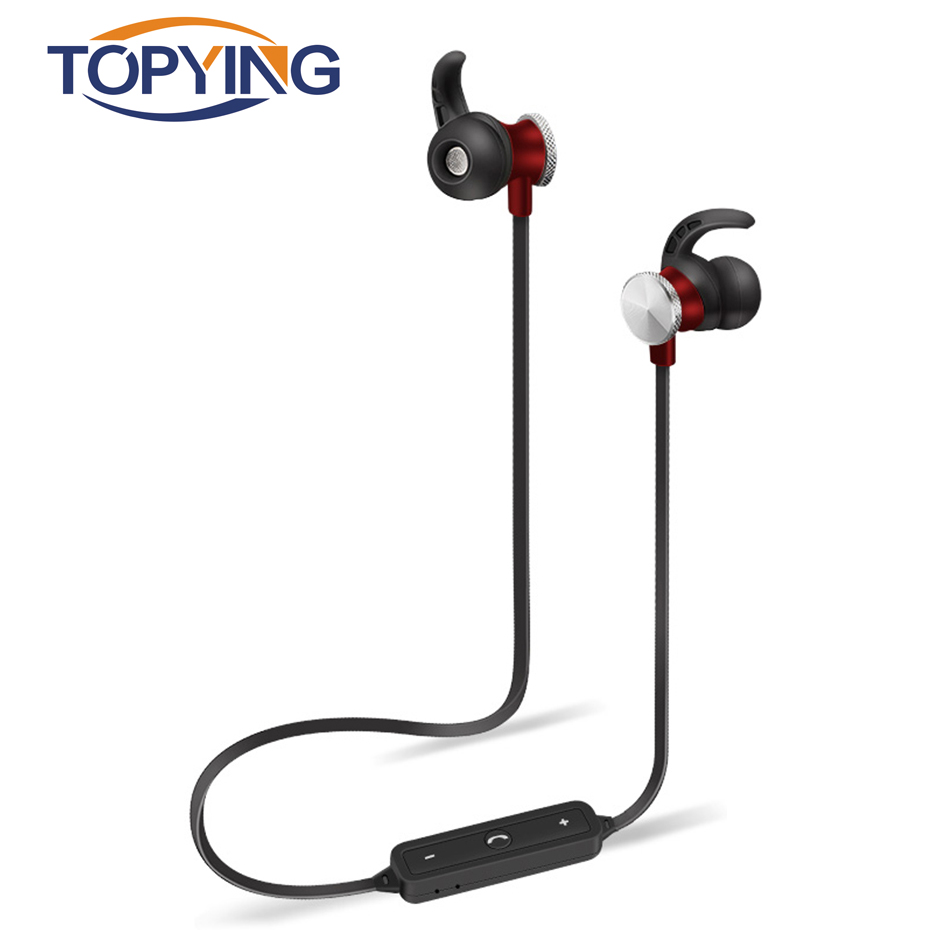 TOPYING Light Weight Design Wireless Earphones With Microphone Noise Canceling Bluetooth ...