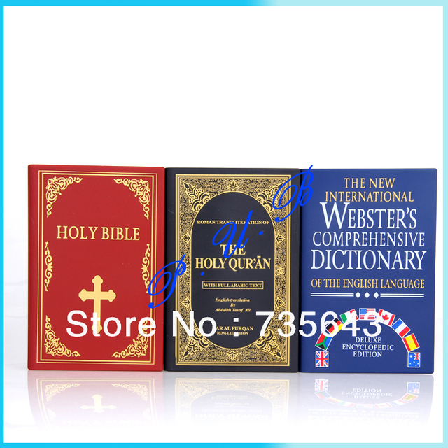 New Fashion Creative Bible Dictionary Speaker FM radio for MP3 MP4 Cell  Phone music box speaker-in Portable Speakers from Consumer Electronics on