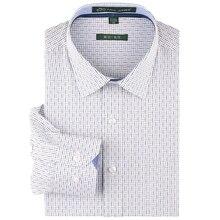 Herbst 2016 Kleid Shirts für männer Klassische kragen Langarm Regelmäßige-fit Nicht Eisen Baumwolle Formal Blau/schwarz Kariertes Hemd