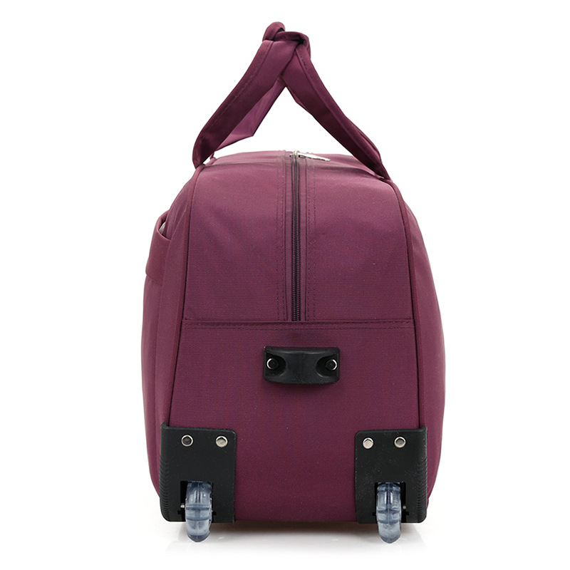 LHLYSGS Brand Women Fashion Cart Tug Case Wheels Travel Trolley Bag Hand  Luggage Travel Bag Men Waterproof Suitcase Duffle Bag-in Travel Bags from  Luggage ... 0a60435ec2097
