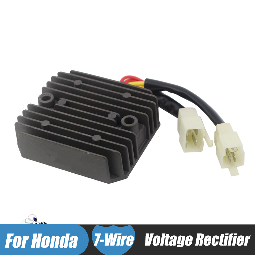 12v Motorcycle Voltage Regulator Rectifier for Honda CBR600F HURRICANE VTZ250 VFR400 VFR400Z VF750C VFR750F INTERCEPTOR VF750 mayitr motorcycle voltage regulator rectifier for honda vfr 800 fiy fi1 2 3 4 5 2000 2005 rtv1000 cbr1100xx