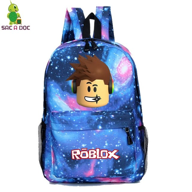 8278fda4a8d Hot Roblox Game Galaxy Space Backpack School Bags for Teenage Girls Boys  Fashion Laptop Backpack Casual Travel Rucksack