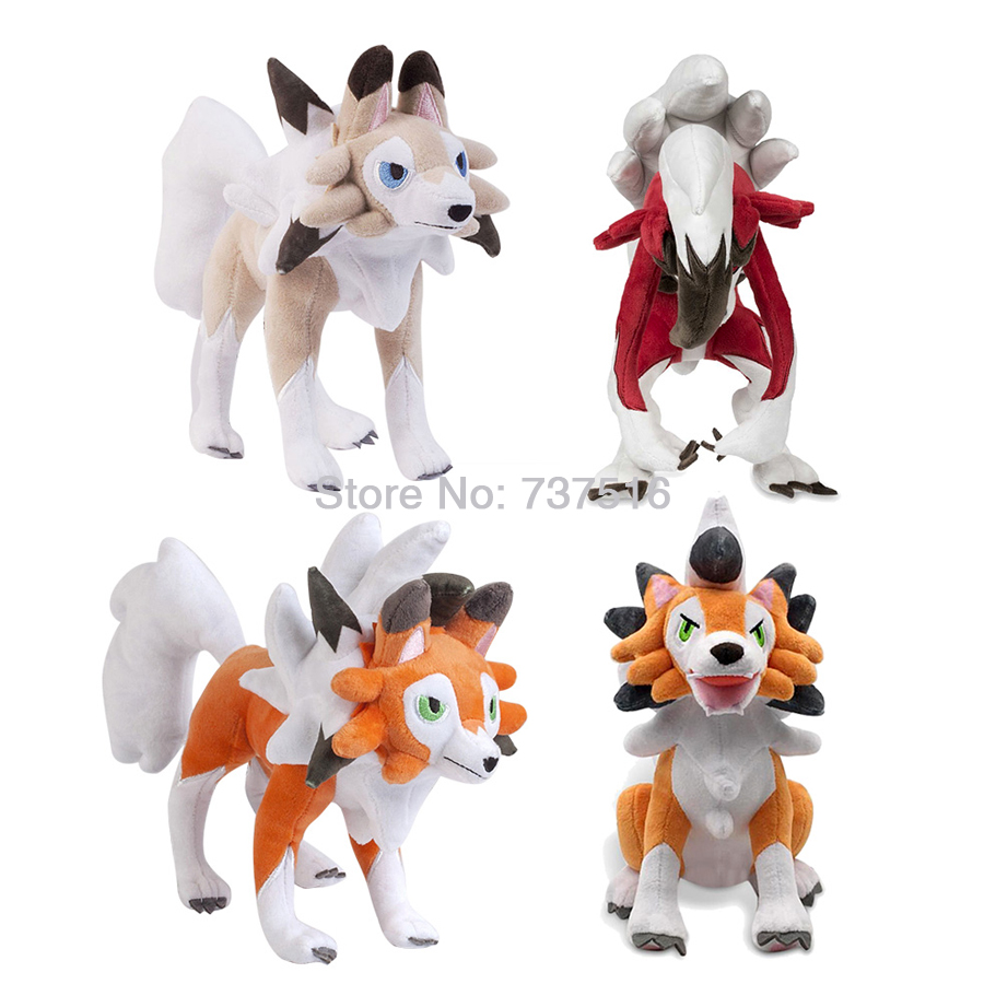 Pokemon Center Leafeon Mimikyu Plush Doll Stuffed Toy Sun and Moon 13 inch Gift