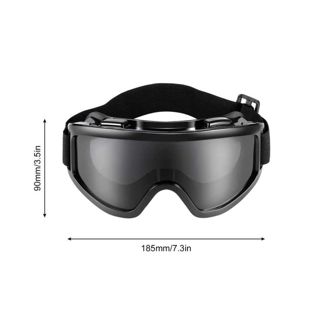 PC Lensa Kacamata Kacamata Pelindung Melindungi Mata Masker Debu Angin Mencolok Keselamatan Keamanan Tenaga Kerja Kacamata