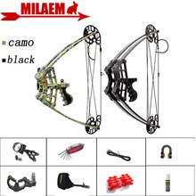 1Set 45lbs Archery Compound Bow Triangle Bow Car Hunting IBO 270FPS Left Right Hand General Purpose Hunting Shooting Accessories