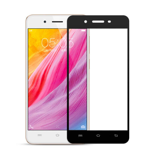 3D Full Cover 9H Tempered Glass For Vivo Y53 Y53i Y55  glass Screen Protector