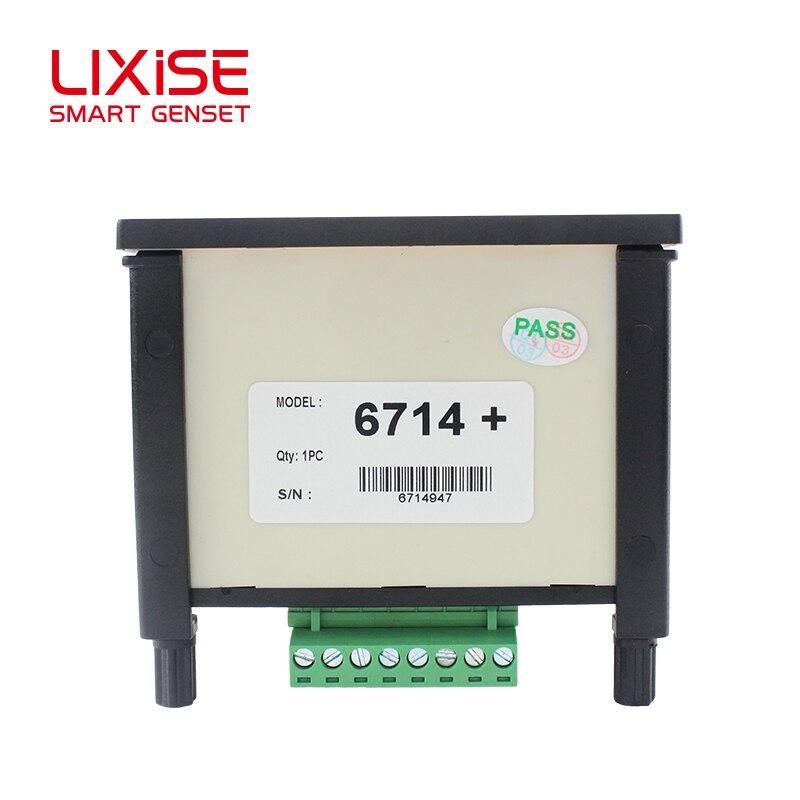 6714+ измеритель дизельного генератора Lixise Synchroscope