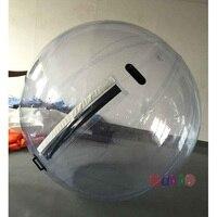 Бесплатная доставка 2 м воды гуляя Зорбинг шарик воды гигантский Воды Мяч Zorb баллон Надувные людской воды футбол