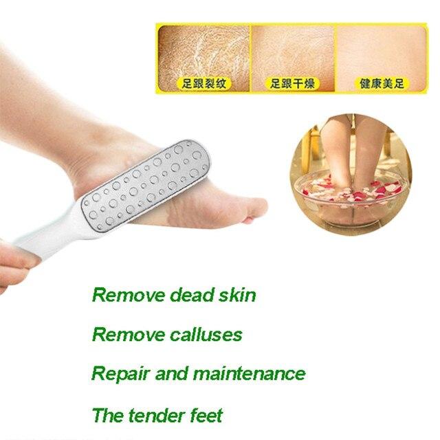 Foot Brush Foot Rasp File Pedicure Callus Remover Hard Dead Skin Scrubber Foot Brush Foot Rasp File and Callus Remover Brush New 3