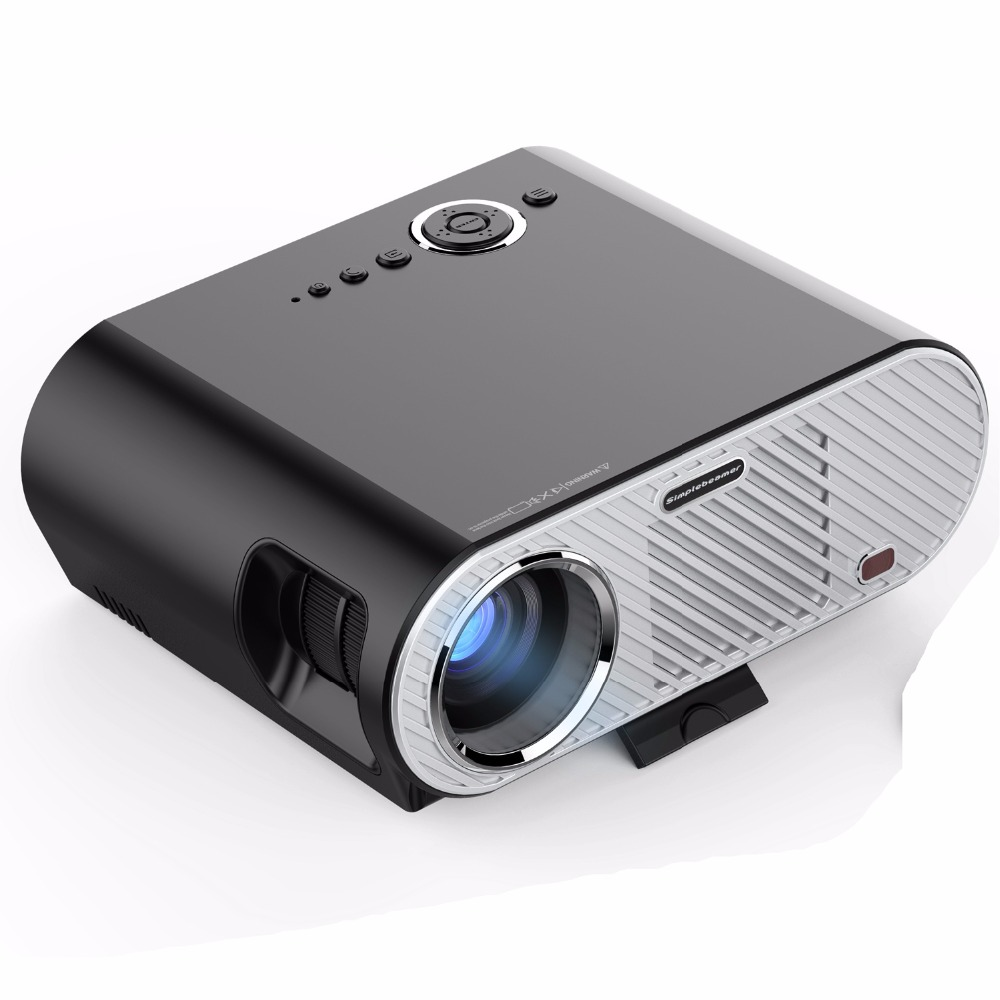 Original Vivibright GP90 Projector 3200 Lumens 1280 800 LED lamp LCD Projector for Home Theater Meeting