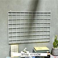 Hot Sale Iron Mesh Grid Photo Wall Iron Frame Clip Hanging INS Photographic Fresh Decoration Creative
