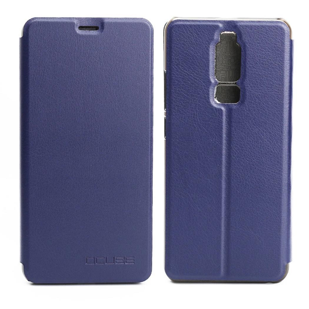 Synthetic Leather Mobile Phone Case Full Body Easy To Install And Take Off. Cover For Leagoo S8 Stand Function