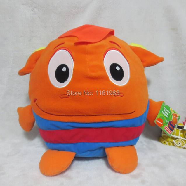 Tyrone   The Backyardigans Beanie Baby Plush Pillow Cusion 36cm Cute