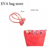Classic Insert With 65 Cm Pu Leather Handles Inner Pocket Lining Waterproof Insert For Obag EVA