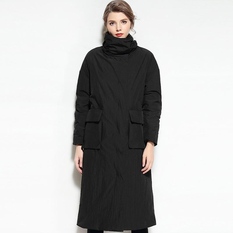 Parka Le Canard vent 2017 Vestes Manteaux Longue Plus Piste Veste Lumière camel Coréen Noir Coupe Ultra Vers Bas Femmes Hiver Puffer Chaud 6AqwOCnp