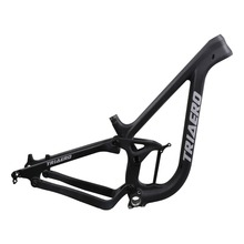 ICAN new arrive Enduro 27.5er full suspension carbon frame mtb 148*12mm boost thru axle 150mm rear travel BSA only P9