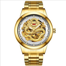 Top Luxury Brand Bosck Men Gold Watch Waterproof Stainless Steel Watches Mechanical Watch Man Business Wrist Watch dom men s watches top brand luxury waterproof mechanical stainless steel watch male business clock wrist watch for men hot m 57