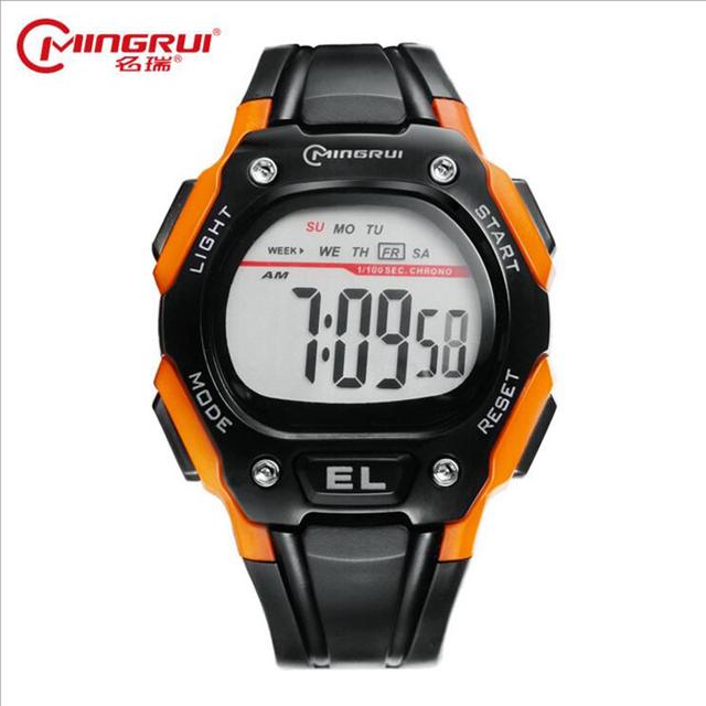 2017 Adolescentes Relógios Esportes Relógio Luminoso Multifuncional À Prova D' Água Personalidade Estudante Menino Relógio Digital Relogio Enfant