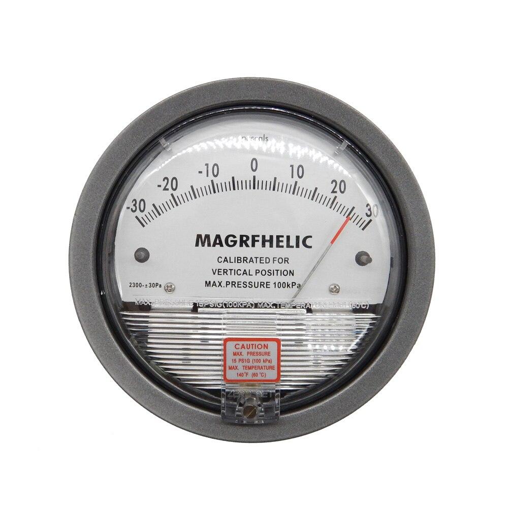 Digital +/-125pa Analog differential pressure table pressure difference meter negative pressure meter With high quality 0 50pa digital analog differential pressure table pressure difference meter negative pressure meter