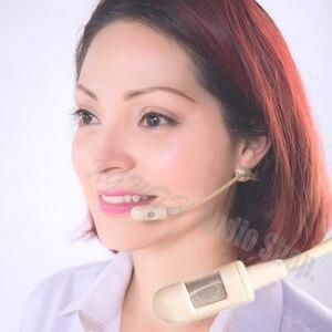 Image 2 - Hypercardioid конденсаторная гарнитура, микрофон для Sennheiser EW 100 300 500 G 1 2 3 4, беспроводная связь, интервью, Речевая запись