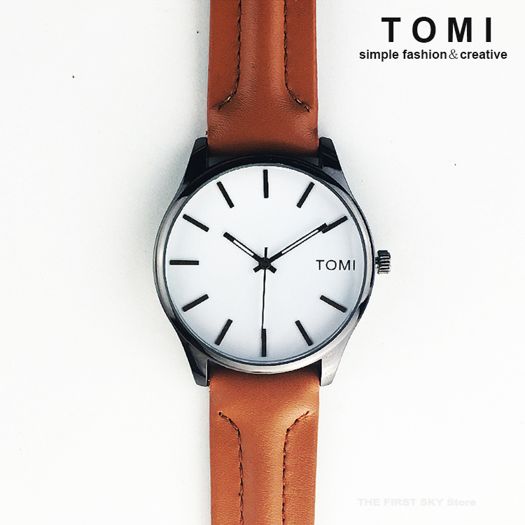 TOMI Fashion Wrist Watch Men Watches with Gift Boxes Top Brand Luxury Famous Quartz Watch Male Clock Hodinky Relogio Masculino fashion top gift item wood watches men s analog simple hand made wrist watch male sports quartz watch reloj de madera