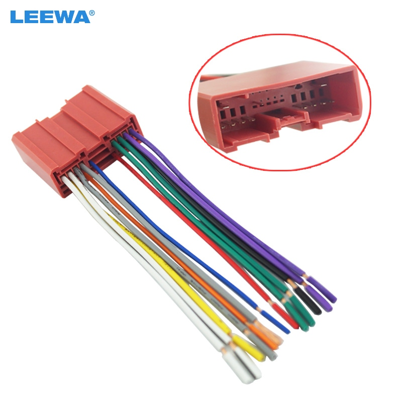 Leewa Car Radio Cd Player Wiring Harness Audio Stereo Wire