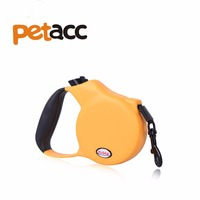 PETACC 10 Feet Handheld Retractable Cord Dog Leash For Large Dogs Up To 55lbs Medium Neon