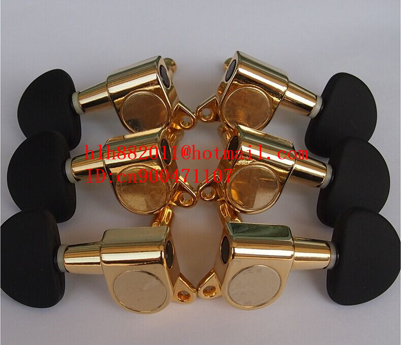 free shipping new guitar gold tuning peg guitar button for both side of the guitar    AR-15 free shipping new electric guitar jade tuning peg in gold guitar button wj44 n22
