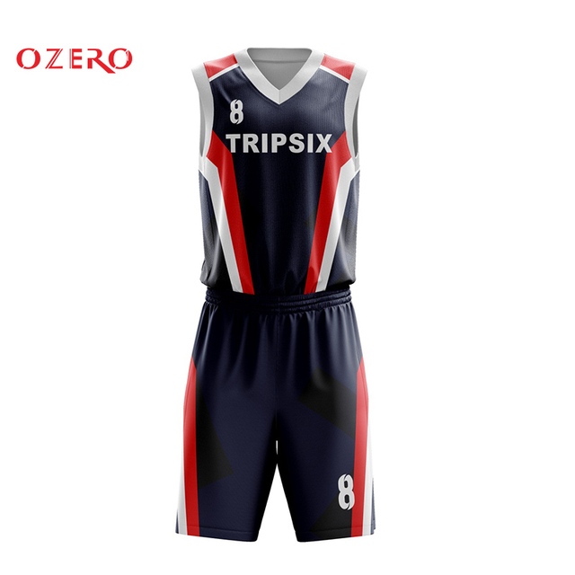 Professional Sublimation Custom Design Basketball Jersey China Any
