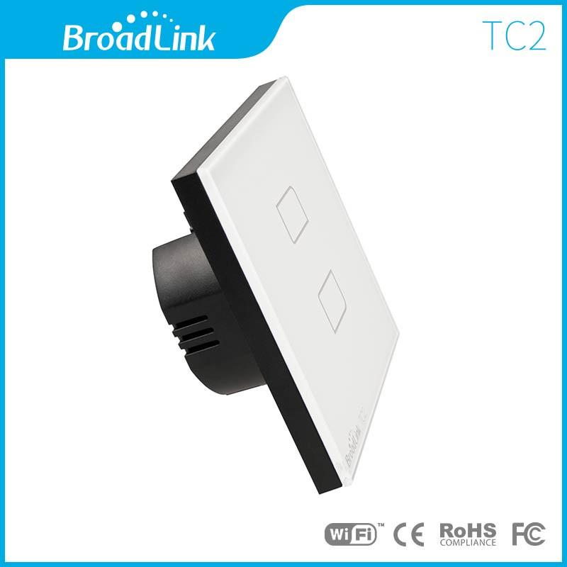 EU-Standard-BroadLink-TC2-220V-2-Gang-Touch-Panel-or-Wireless-Control-Smart-Wall-Light-Switch-2
