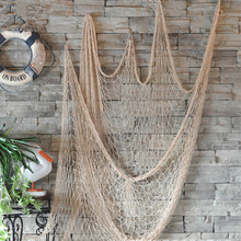 Creative Decorative Nautical Fishing Net Seaside Wall Beach Party Sea Shell Home Decor Vintage Decorations Kids Wall Decoration