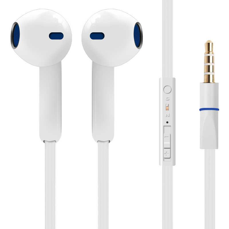 2016 Brand New słuchawki stereo dla Huawei Honor 8 słuchawki douszne zestawy słuchawkowe z mikrofonem zdalne słuchawki z regulacją głośności